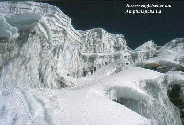 Amphu Labcha Terrassengletscher