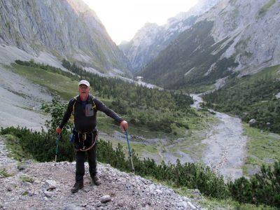 Harry im Bergsteiger Ornat